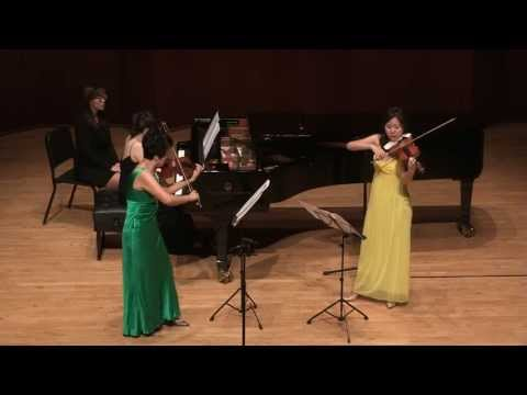 MinJae Chay (IV. Shostakovich, Five Pieces for Two Violins and Piano)