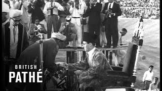 Aga Khan Enthroned In Bombay (1958)