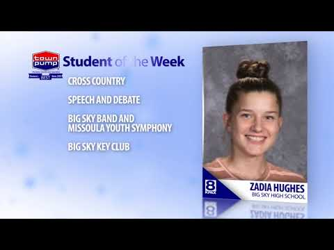 Student of the Week: Zadia Hughes Big Sky High School
