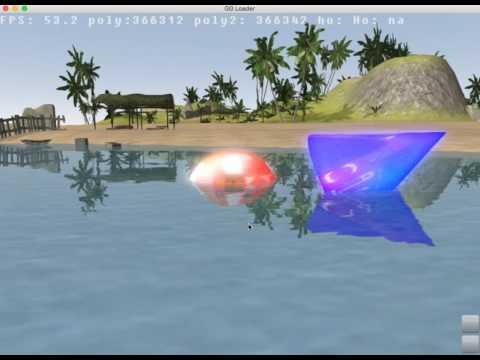 AGK2: Bloom , FXAA , Reflections , Cartoon shaders. |