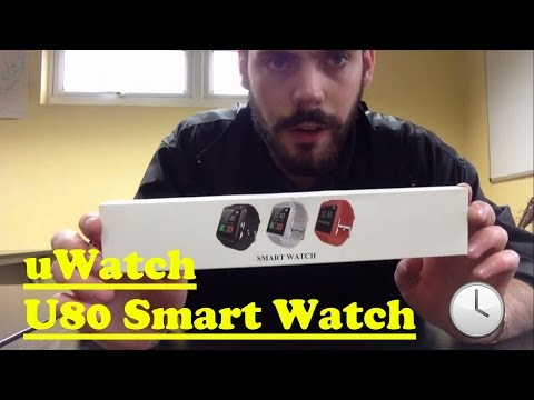 UWatch U80 Smart Watch Unboxing and review