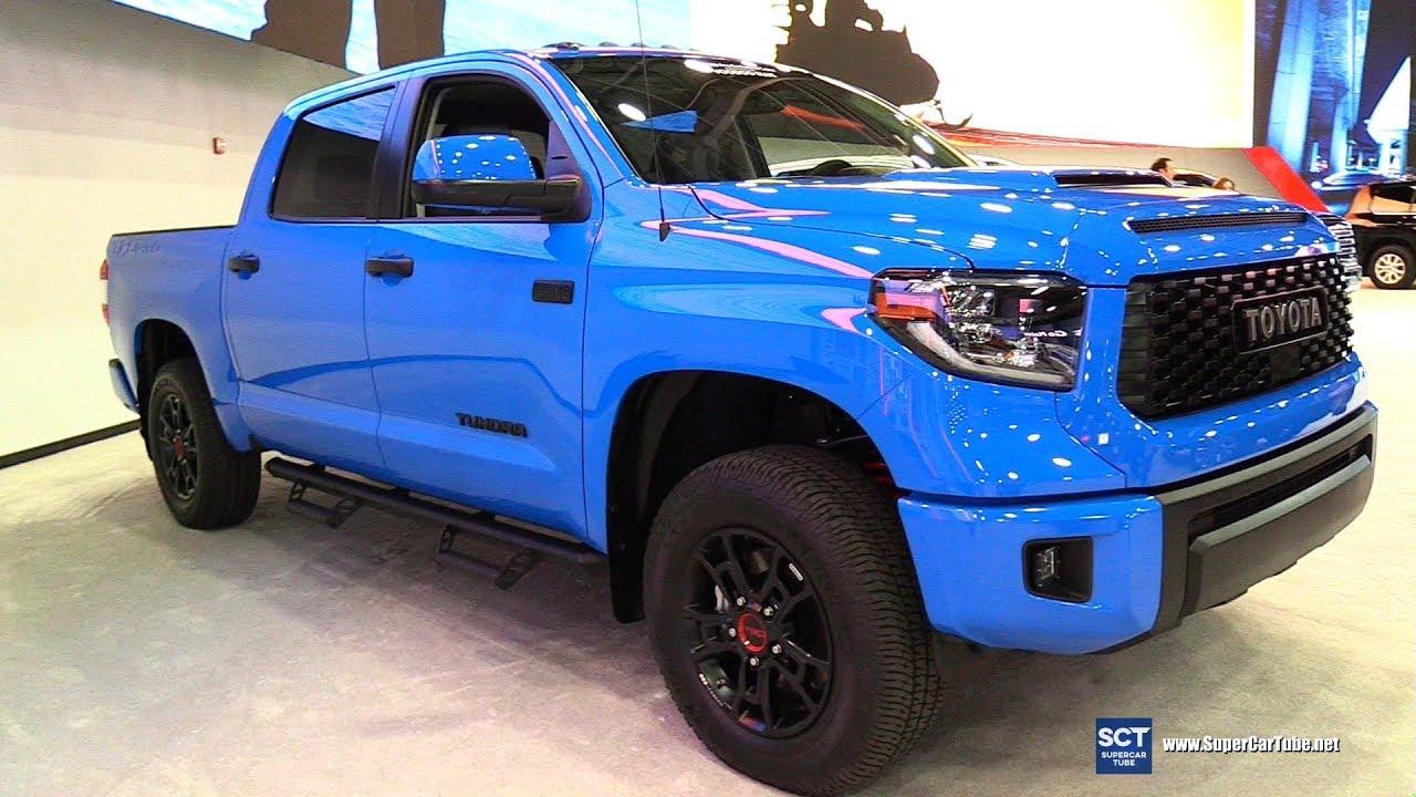 2019 toyota tundra - exterior and interior walkaround - 2019 detroit auto show