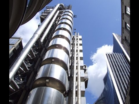 Lloyd's building in City of London Facts and Figures September 2016 Footages