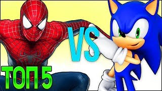 - ТОП 5 СОНИК БУМ РЭП БИТВА СБОРНИК Sonic The Hedgehog Animation Cartoon Top