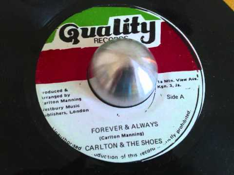 Carlton & The Shoes - Forever & Always - Digital Cut