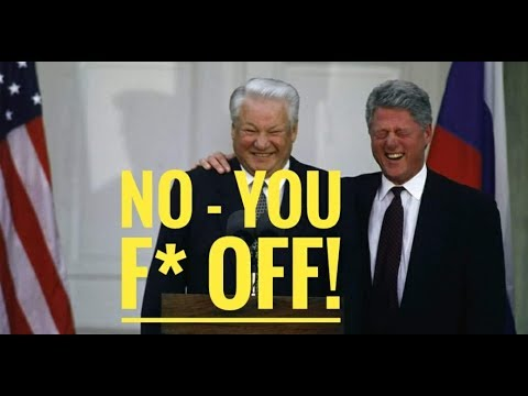 When Yeltsin told Clinton where to go...