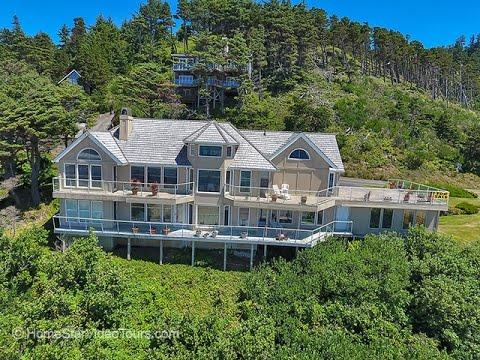 Oceanfront Luxury Home | Oceanside, Oregon