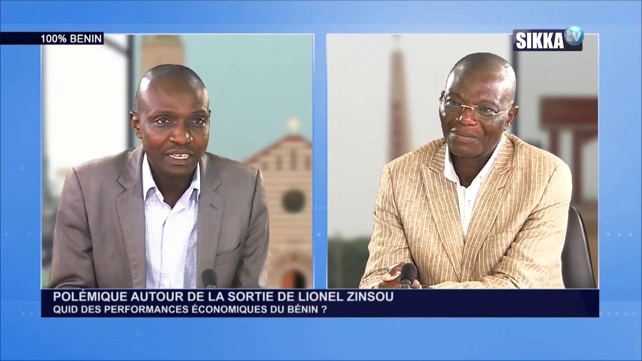 100% BENIN DU 07 09 2020 : THEMEPOLÉMIQUE AUTOUR DE LA SORTIE DE LIONEL ZINSOU ....