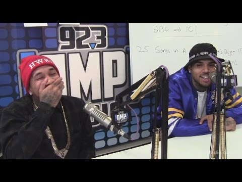 Watch Chris Brown and Tyga Make Prank Call Radio Listener