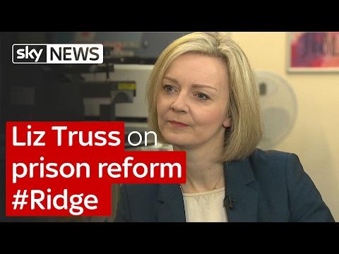 Liz Truss On Prison Reform #Ridge