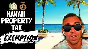 Hawaii Property Tax Rate {2019} | Hawaii Property Tax Exemption Form