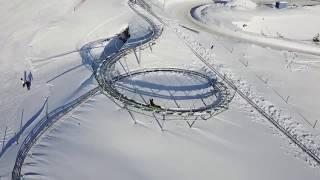 Alpe d'Huez - Luge 4 saisons sur rail