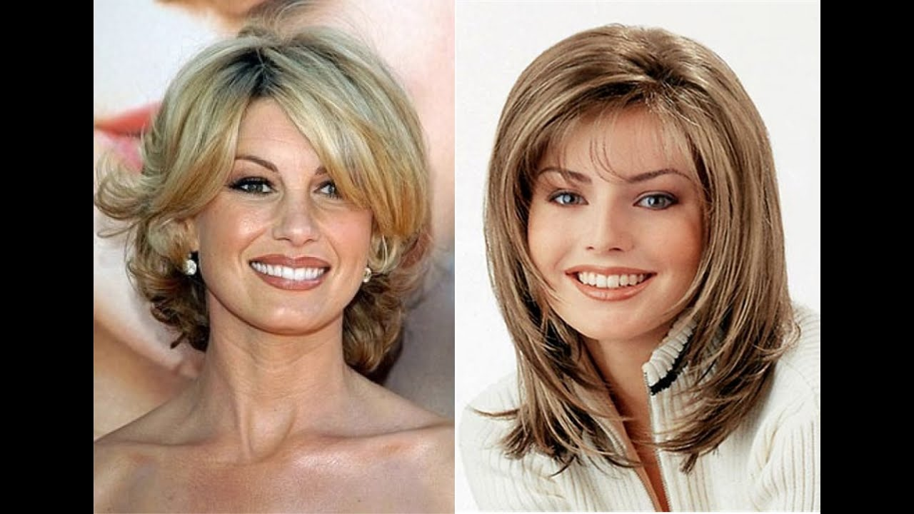 Medium Length Hairstyles For Women Over 40 YouTube