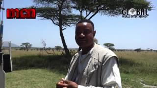 african Safari man immitating animals sounds hillarious