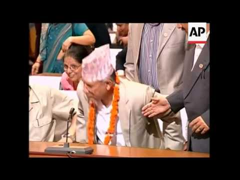 Communist party leader elected as Nepal's new prime minister