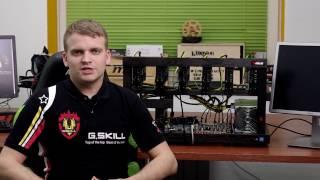 Майнинг ферма на 8 видеокарт - T-Miner ProX8 470+ Black