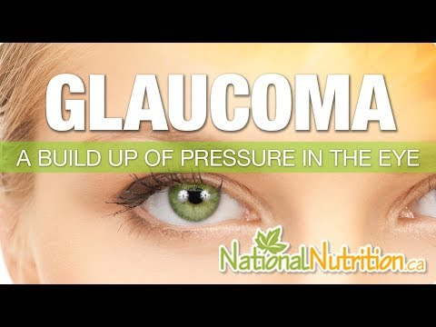 Glaucoma - National Nutrition Articles