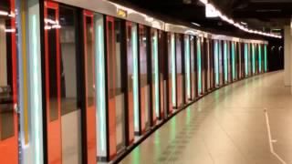 GVB Amsterdam M5 Metro 53 vertrek vanuit Centraal Station naar Gaasperplas
