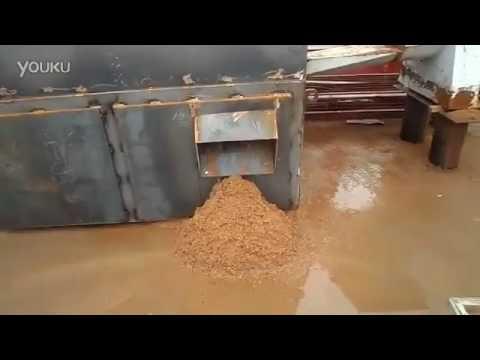 test running of concrete reclaimer
