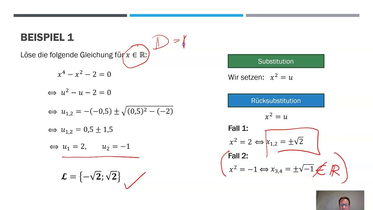 Substitution Mathegiesen