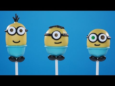 Download MINIONS CAKE POPS - NERDY NUMMIES Pics
