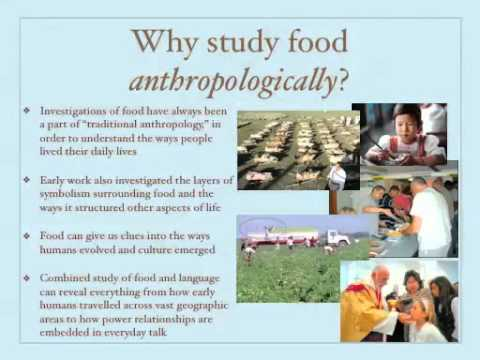 introduction to anthropology of food part 2 youtube