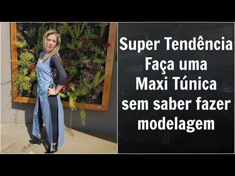 Maxi Túnica - uma super tendência