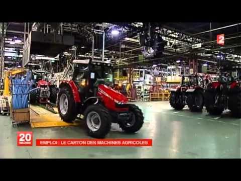 AGCO Beauvais - Reportage France 2 (mardi 26 mars 2013)