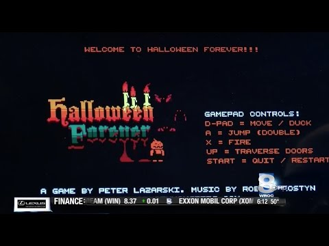 RIT on TV: Alumnus Creates Halloween Video Game