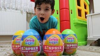 Miracın Dayısı Renkli Sürpriz Yumurtalar Almış Onları Sakladık Acaba Miraç Bulabilecek Mi