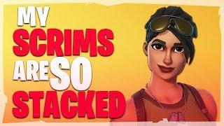 Stacked Scrims Are So Much Fun! | Fortnite Eu Scrims