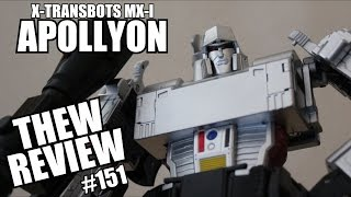 X-Transbots MX-I Apollyon: Thew