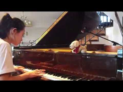 周杰伦 Jay Chou-最长的电影-钢琴版 Piano Cover By Elizabeth