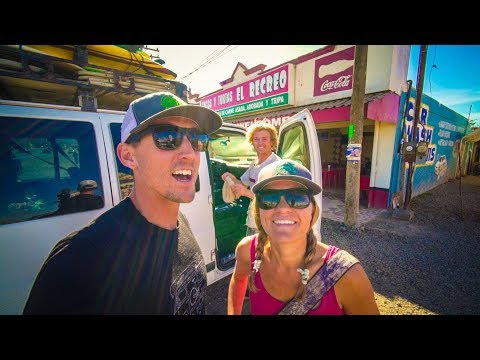 Roadtrip to Baja California Mexico for a Wild Surfing Tour - #Vanlife | Adventure in a Backpack