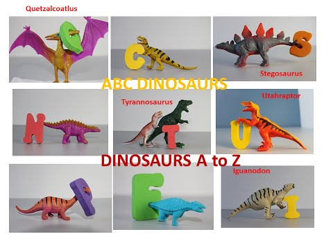 Dinosaurs ABC song Alphabet A to Z for Children abc song nursery rhymes brachiosaurus Kids learning