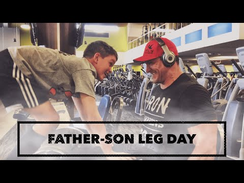Father-Son Leg Day | FULL High-Volume Quad-Focused Workout