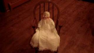 Rocking Haunted Doll  Haunting Ghost Sighting Paranormal Video