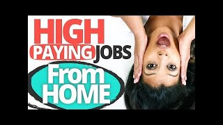 10 High Paying Jobs You Can Learn And Do From Home 🏠💰