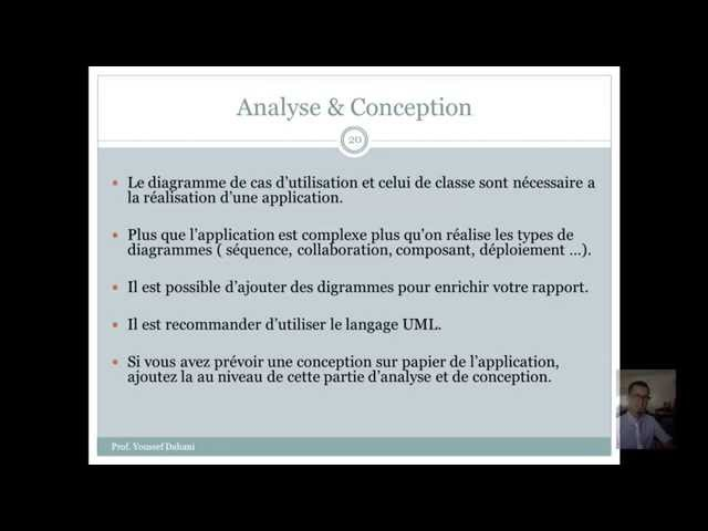 Analyse et Conception
