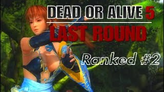 DOA5LR | The Kunoichi of Destiny: Ranked #2