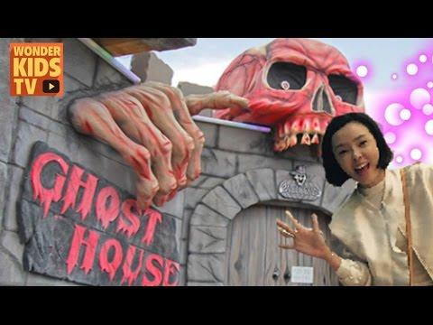 유령의 집 이야기 팝업북 haunted house pop up book l 할로윈 l halloween book