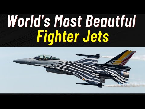 Most Beautiful Jet Fighters in the World