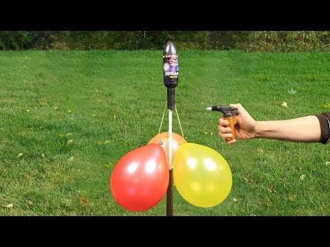 Experimento: Cohete vs