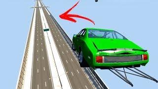 O SALTO DE 400km/h PERIGOSO!!! - BeamNG Drive