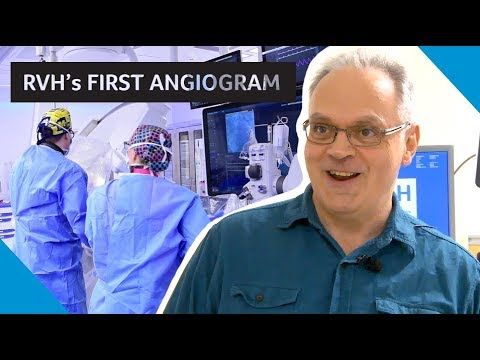 Dez -  RVH's first angiogram