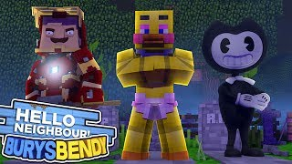 BENDY VS FNAF VS HELLO NEIGHBOUR | Minecraft
