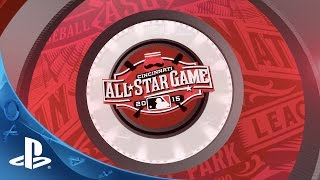 MLB 15 The Show: Official 2015 MLB All Star Game Simulation | PS4, PS3, PS Vita
