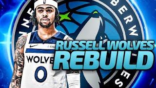 D'ANGELO RUSSELL TIMBERWOLVES REBUILD! NBA 2K20