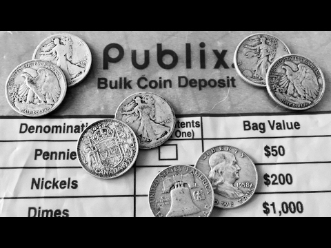 How To Get Bank Deposit Bags Full Of Silver Coins! Coin Roll