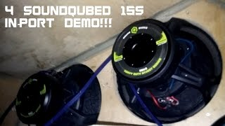 Port Demo With Bo's 4 Sound Qubed HDS215s!